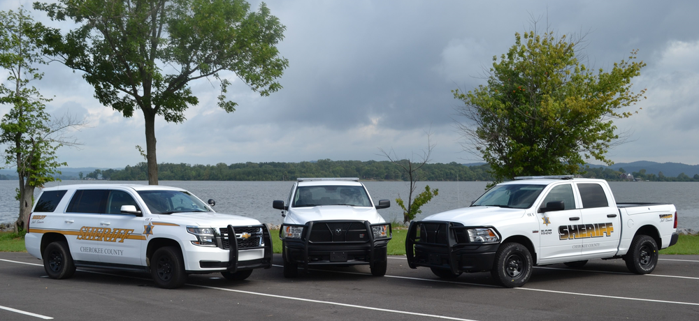 3 new patrol vehicles purchased using money from the inmate work release program