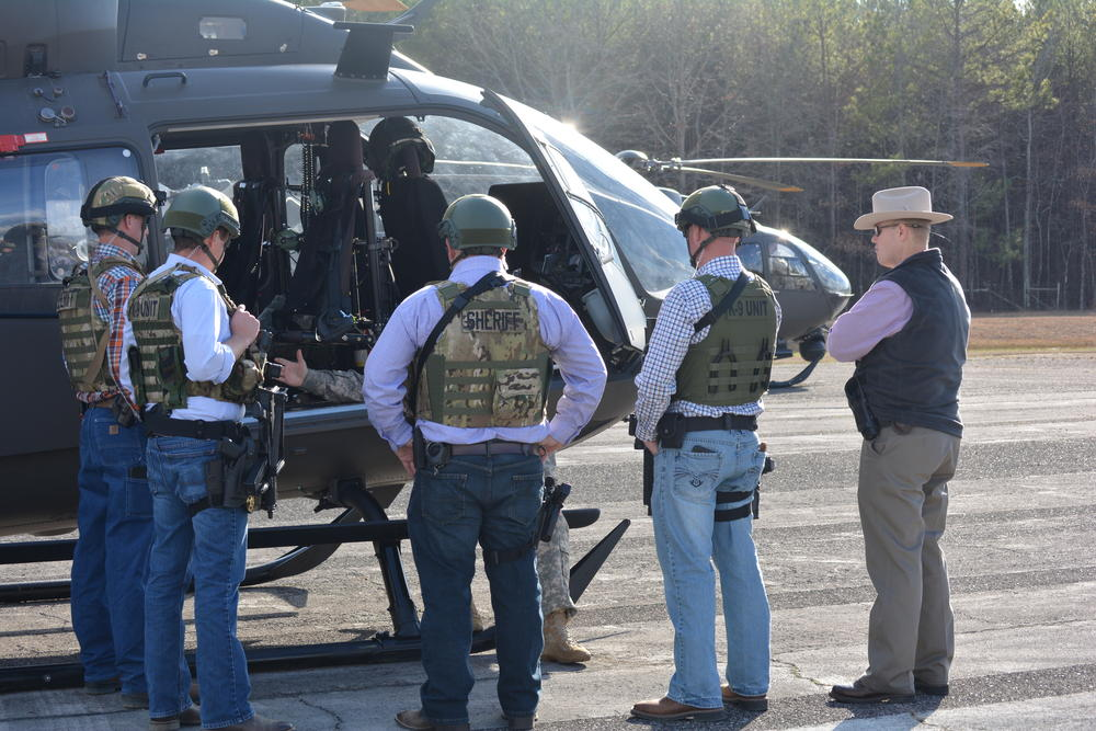 Sheriff's Office Personnel Train with Counterdrug Aviation ...