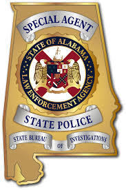 state of alabama with a seal for the law enforcement agency
