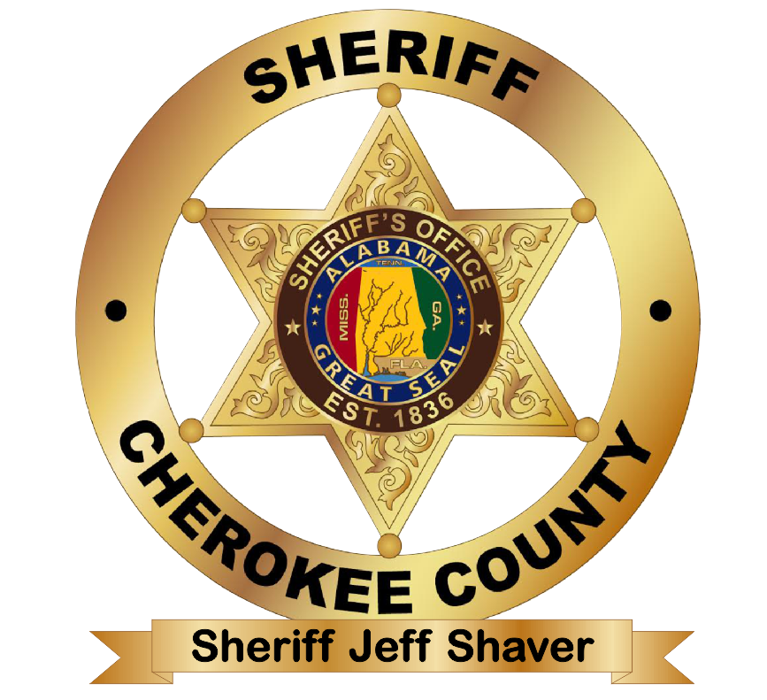 Cherokee County Sheriff badge