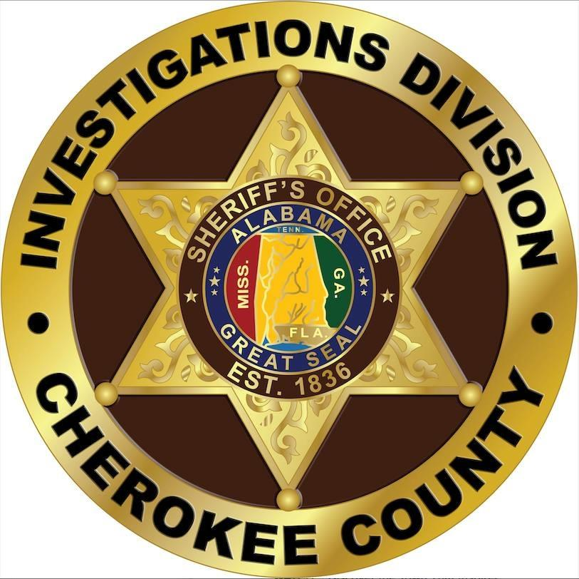 Cherokee County Investigations Division badge