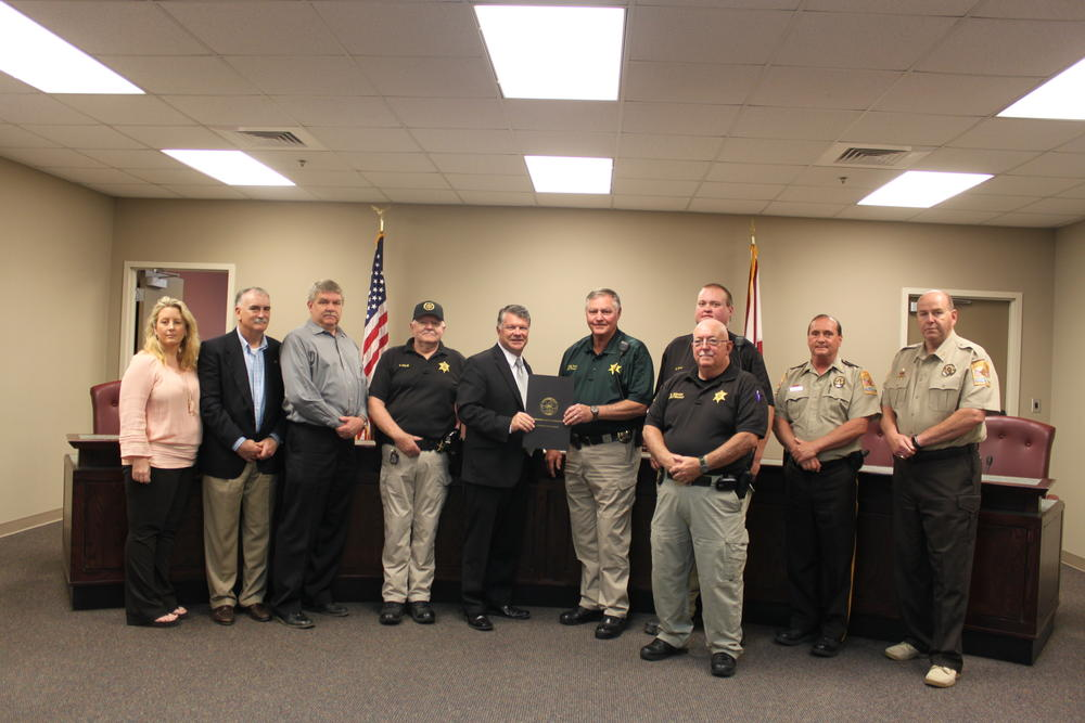 corrections officers at Cherokee County Sheriff office