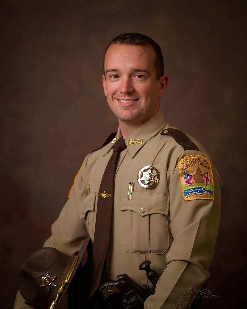 Professional portrait of Cpl. Tony Pettitt