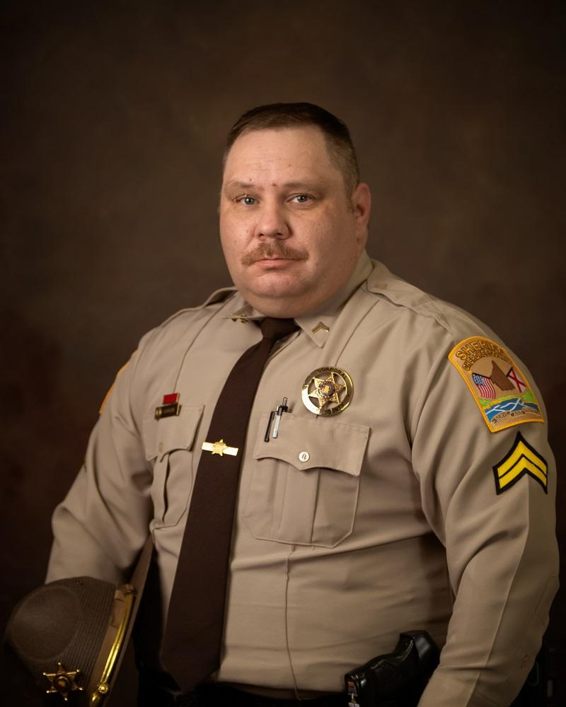 Professional portrait of Cpl. Nick Vaughn