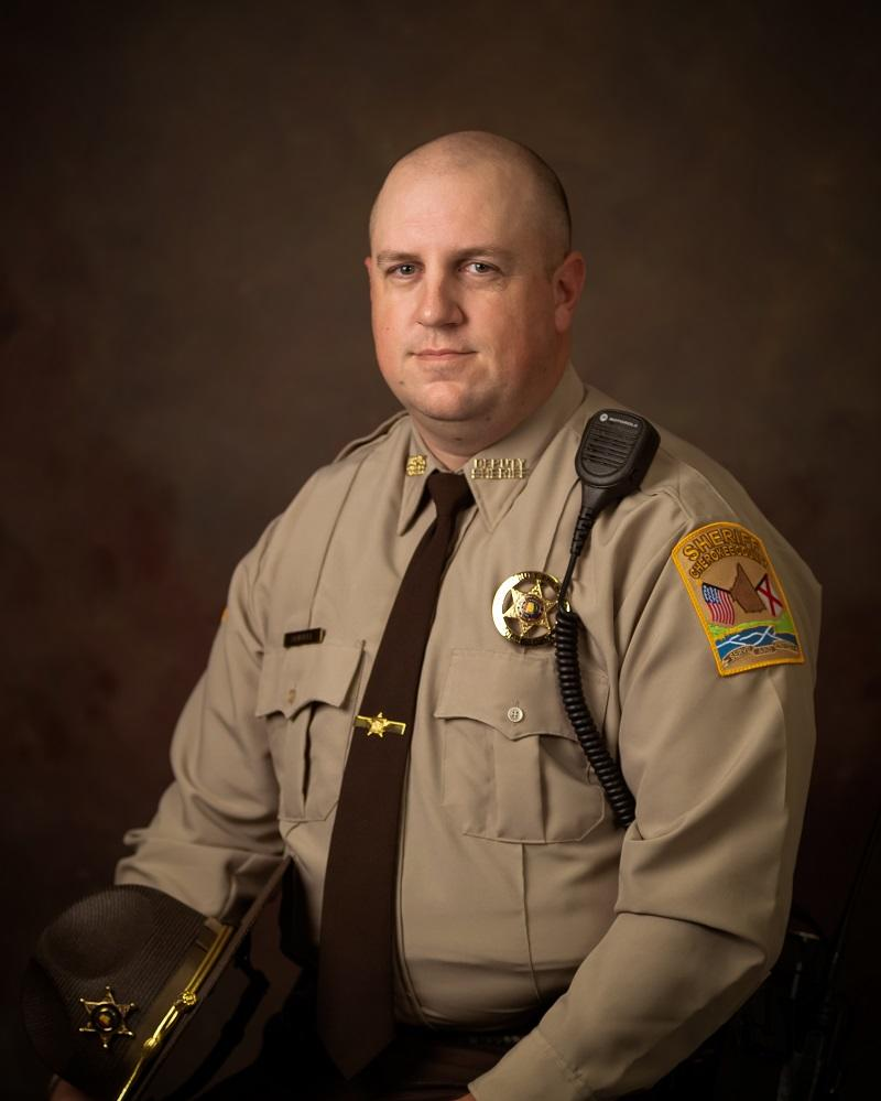 Professional portrait of Sergeant Jordan Kelley