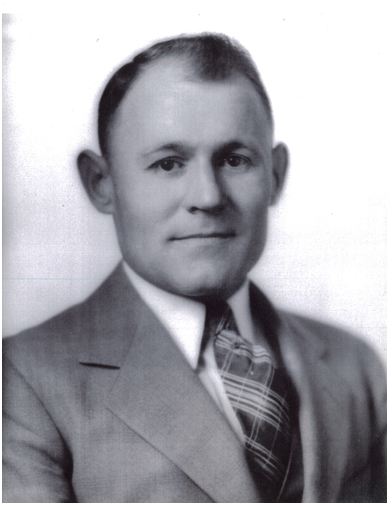 Portrait of Previous Sheriff Frank Miller