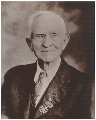 Portrait of Previous Sheriff John S. Daniel