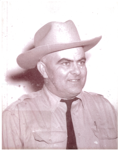 Portrait of Previous Sheriff Rusty C. Leath