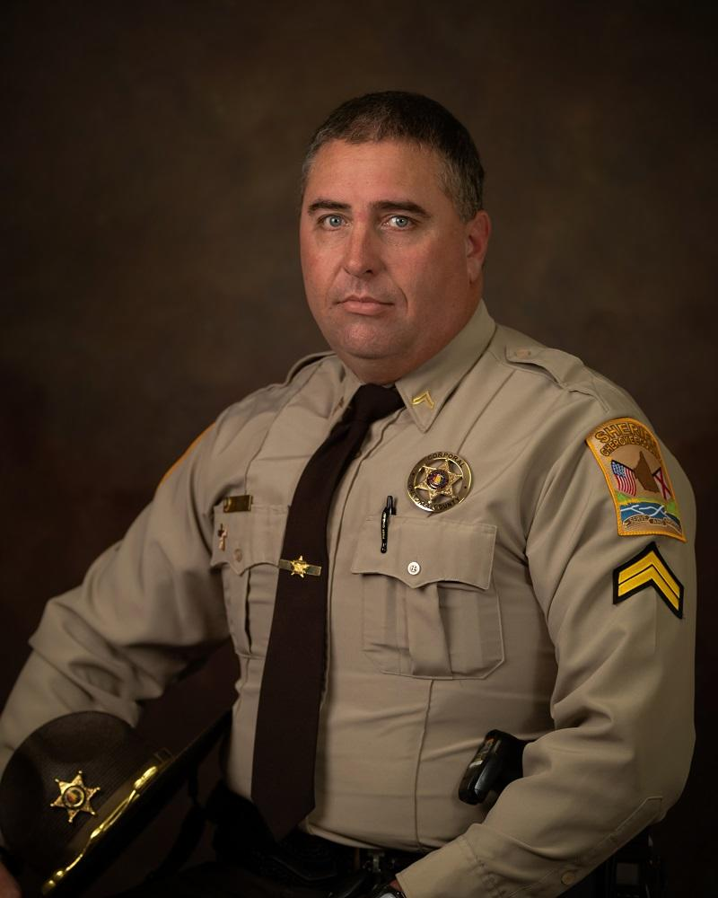 Professional portrait of Corporal Keith Morgan