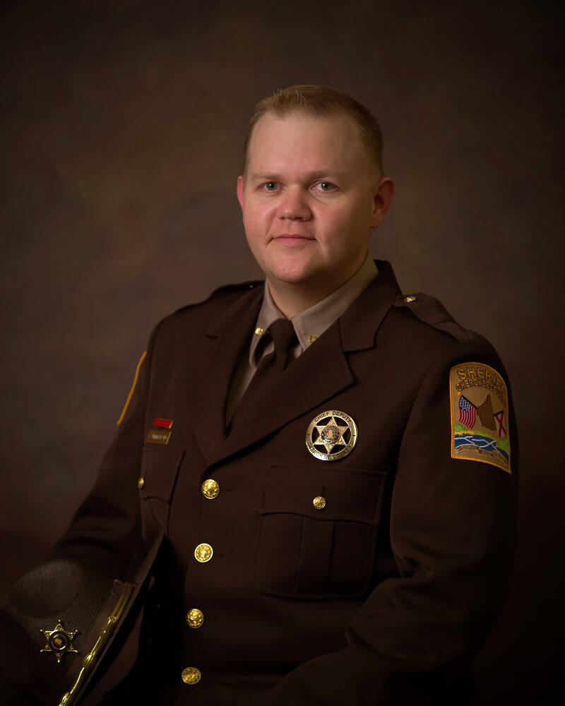 Professional business portrait of Chief Deputy Josh Summerford