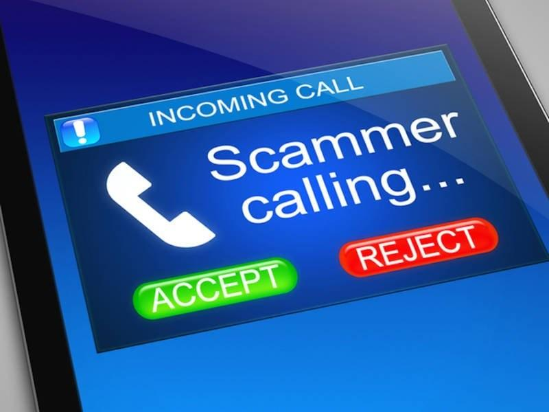 Incoming call from Scammer