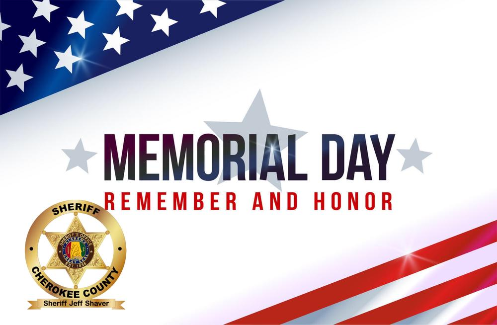 Memorial Day - Remember and Honor Header
