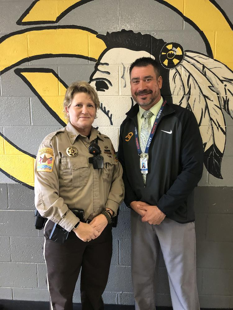 Deputy West with Principal Neyman
