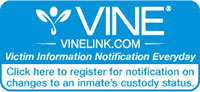 VINE link. America's number one victim notification network.
